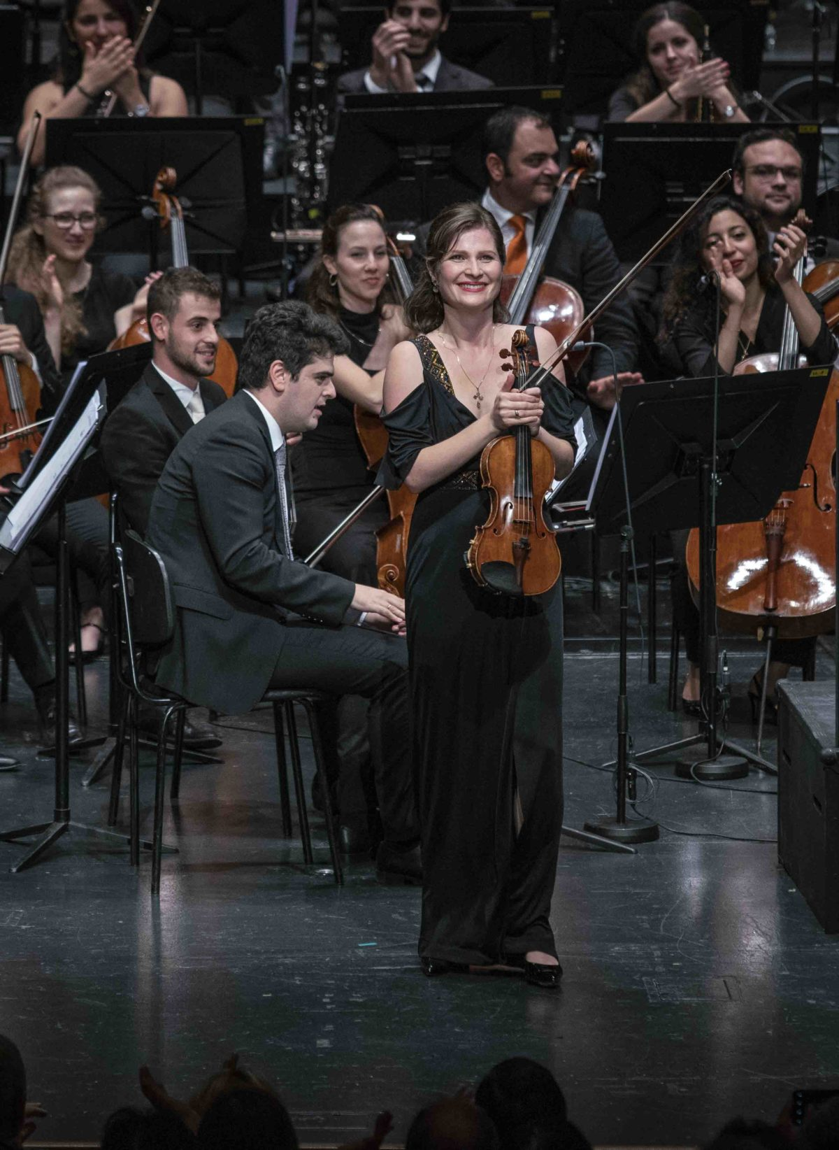 Lisa Batiashvili, Daniel Barenboim, West-Eastern Divan Orchestra,  Salzburger Festspiele, Großes Festspielhaus