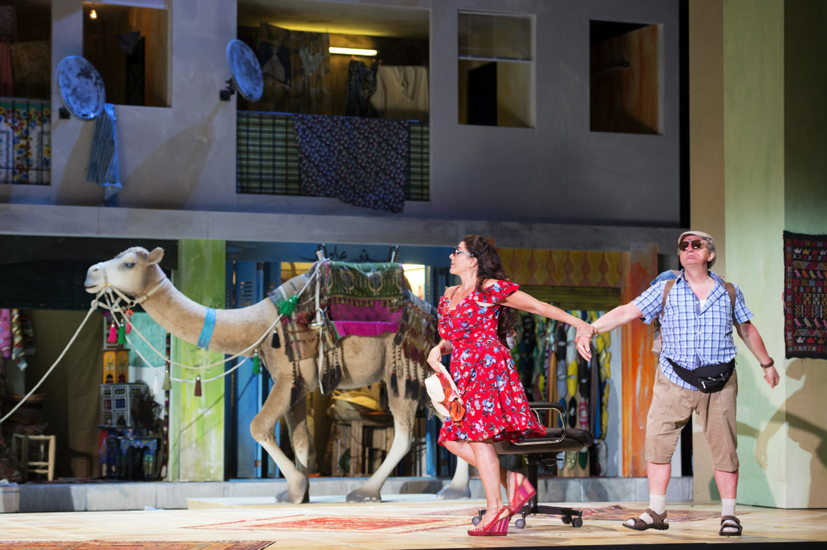 Giacchino Rossini, L'italiana in algeri, Cecilia Bartoli,  Salzburger Pfingstfestspiele