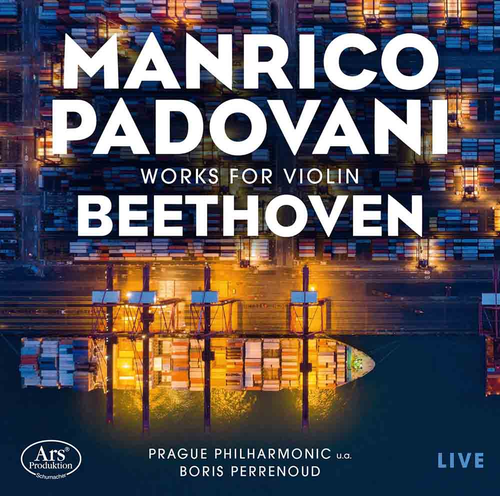 CD-Besprechung, Manrico Padovani, Beethoven Works for Violin