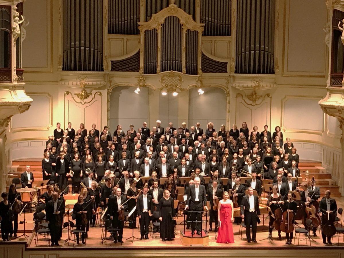 Joseph Haydn, Die Schöpfung, Symphonischer Chor Hamburg, Matthias Janz, Symphoniker Hamburg, Johanna Winkel, Georg Poplutz, Thomas Laske,  Laeiszhalle Hamburg