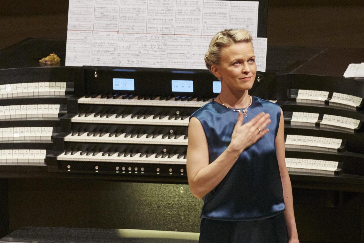Iveta Apkalna, Orgelkonzert,  Elbphilharmonie Hamburg