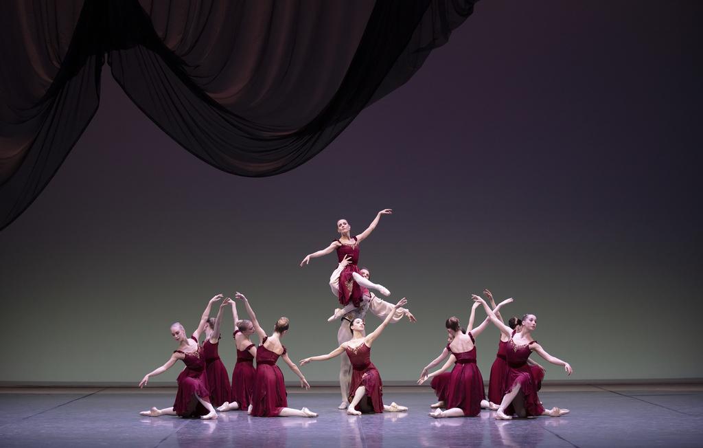 Brahms/Balanchine –  Zwei Ballette von George Balanchine, Hamburg Ballett John Neumeier, Staatsoper Hamburg, 13. Dezember 2018