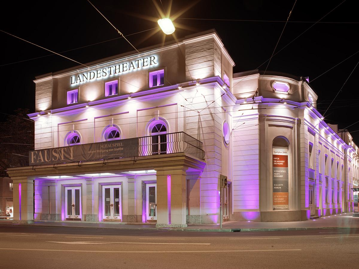 Verachtet mir die Stadt- und Landestheater nicht, und ehrt mir ihre Kunst (3): Das Salzburger Landestheater