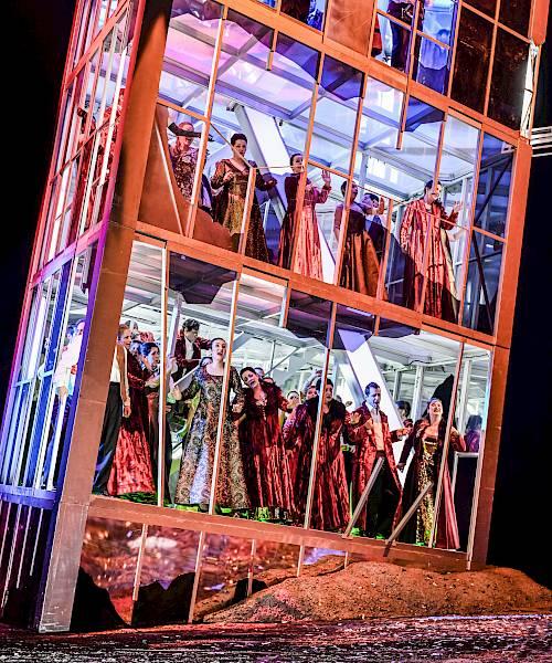 Gaetano Donizetti, Lucia di Lammermoor,  Opernhaus Zürich, 14. März 2019