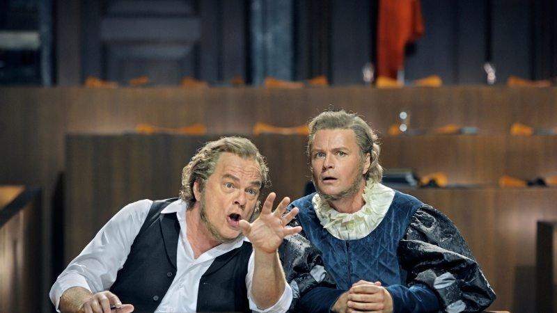 Richard Wagner, Die Meistersinger von Nürnberg, 31.07.2017, Klaus Florian Vogt, Michael Volle, Martin Kränzle, Günther Groissböck, Daniel Behle, Anne Schwanewilms, Wiebke Lehmkuhl,  Bayreuther Festspiele