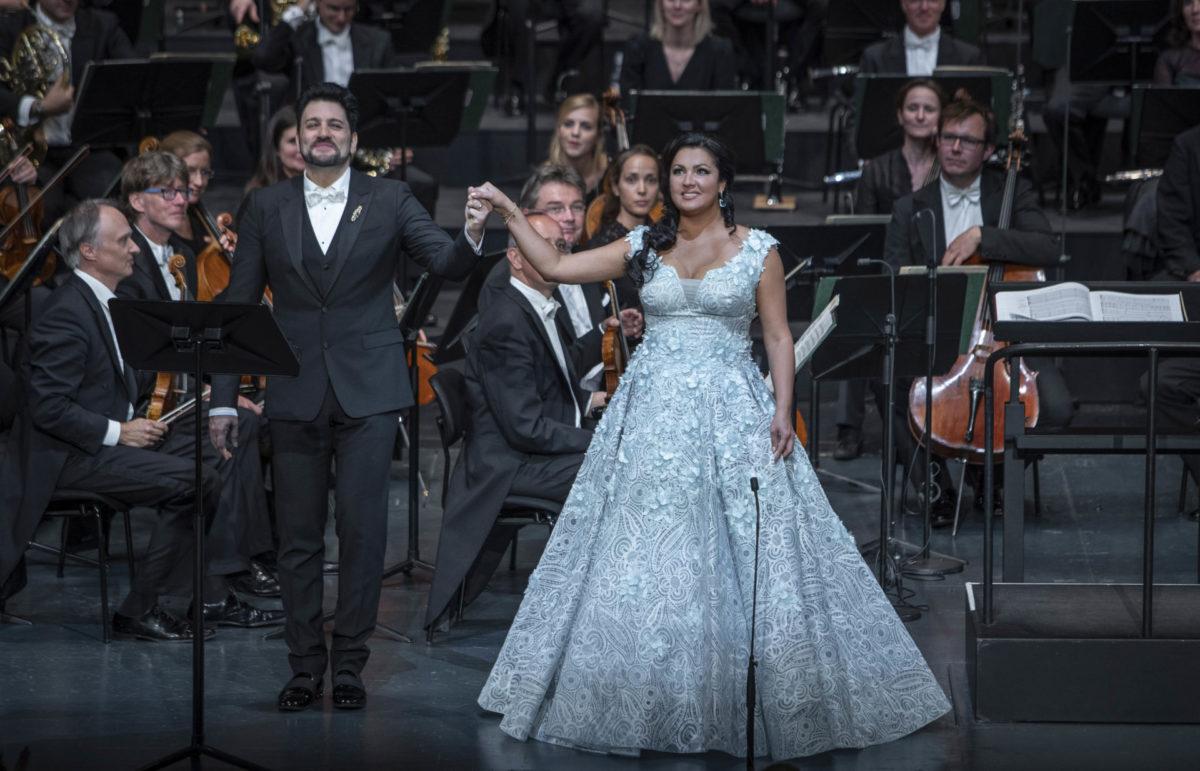 Netrebko und Eyvazov feiern Eheglück in concert  Salzburger Festspiele 2020