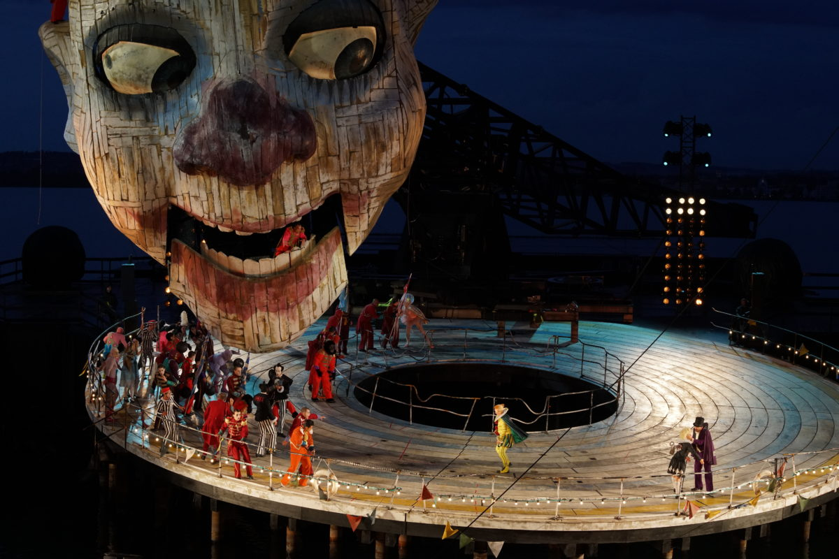 Giuseppe Verdi, Rigoletto,  Bregenzer Festspiele, 17. Juli 2019