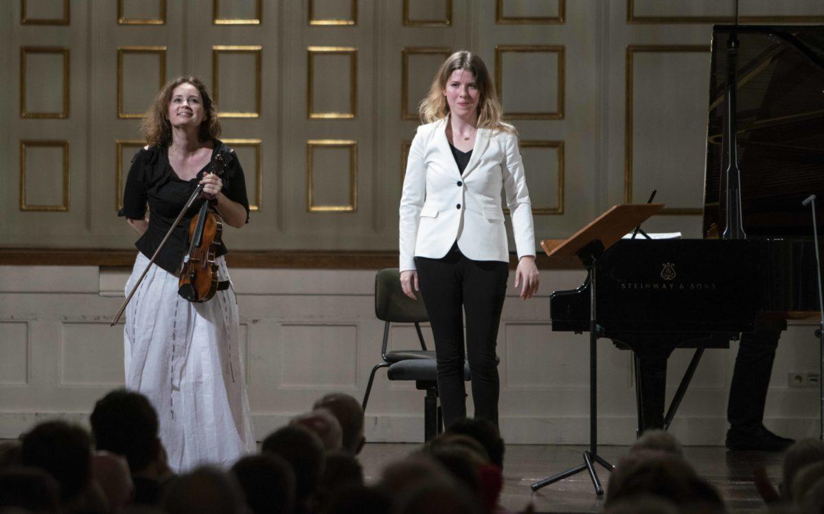 Solistenkonzert Kopatchinskaja · Leschenko, Salzburger Festspiele, Stiftung Mozarteum, Großer Saal, 18. August 2019