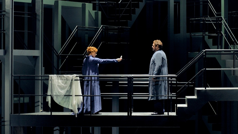 Richard Wagner, Tristan und Isolde, 02.08.2017, Christian Thielemann, Katharina Wagner, Stephen Gould, Petra Lang, René Pape, Christa Mayer, Iain Paterson, Raimund Nolte, Tansel Akzeybek, Kay Stiefermann,  Bayreuther Festspiele