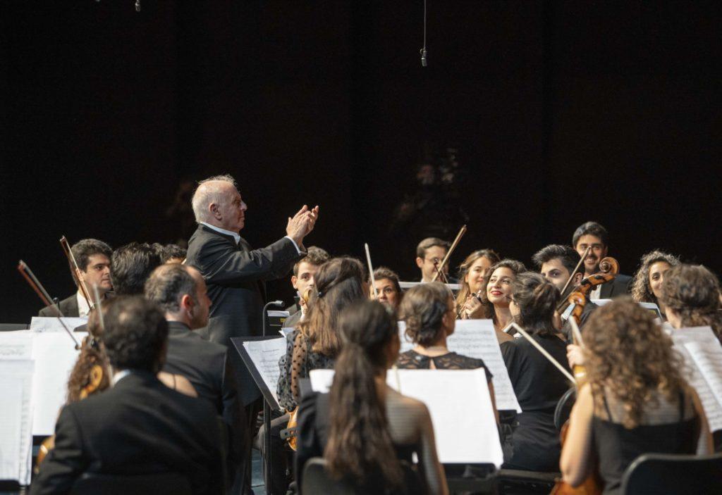 Daniel Barenboim, West Eastern Divan Orchestra,  Salzburger Festspiele, 16. August 2020
