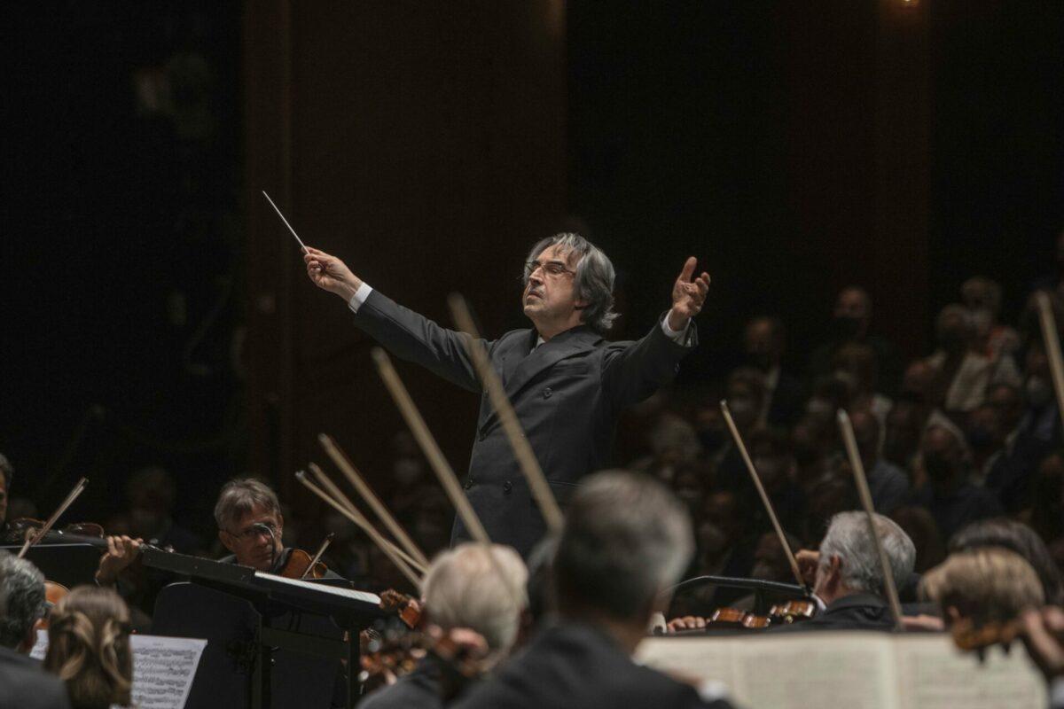 Wiener Philharmoniker, Riccardo Muti,  Salzburg, 16. August 2021, Großes Festspielhaus