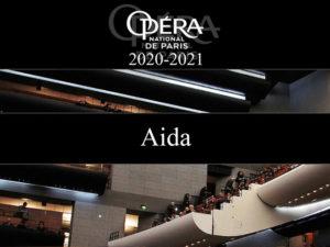 Giuseppe Verdi, Aida  L'Opéra national de Paris, Livestream, 18. Februar 2021