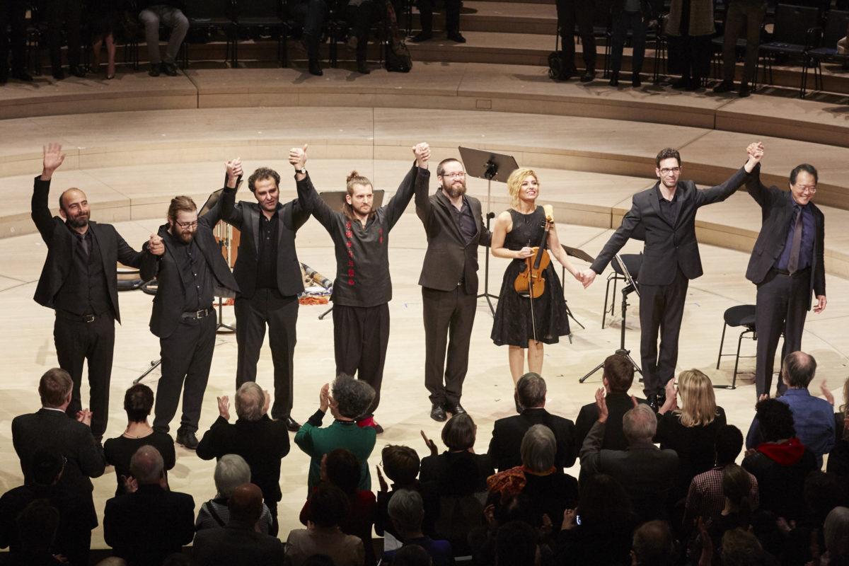 Yo-Yo Ma & Friends, Bach, Azmeh, Brahms,  Elbphilharmonie Hamburg